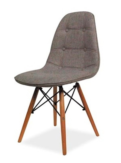Jedálenská stolička AXEL II šedá/buk