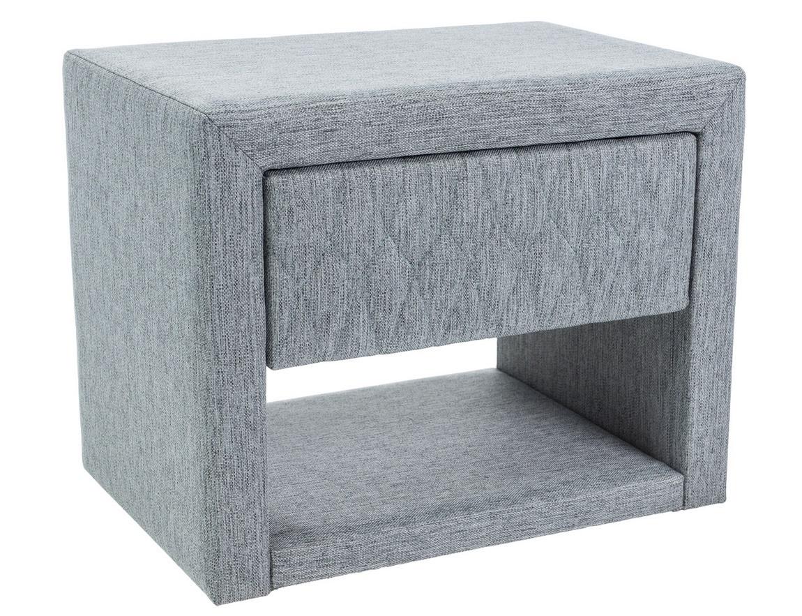 Nočný stolík AZURRO šedá