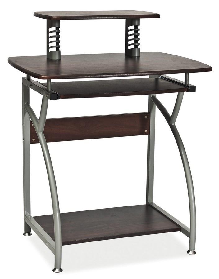 Pracovný stôl B-07 tmavo hnedá