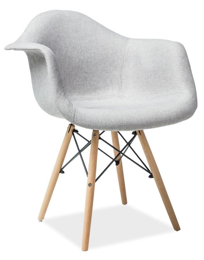 Jedálenská stolička BONO šedá