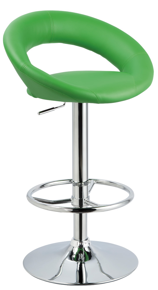 **Barová židle KROKUS C-300 zelená