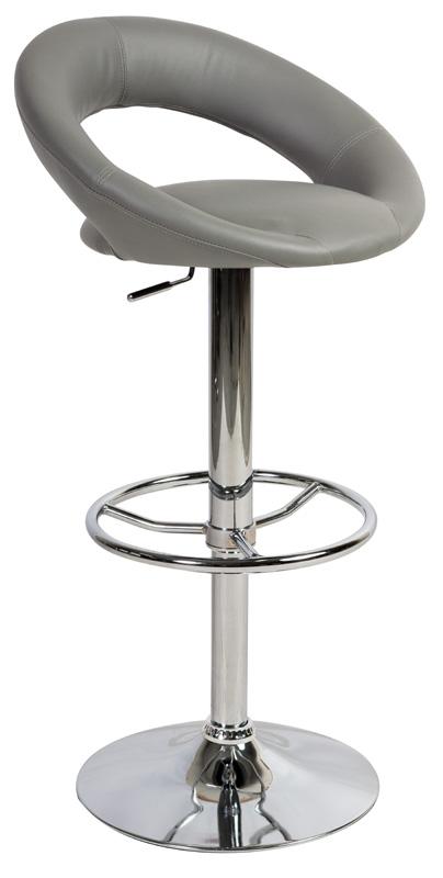 Barová stolička KROKUS C-300 šedá