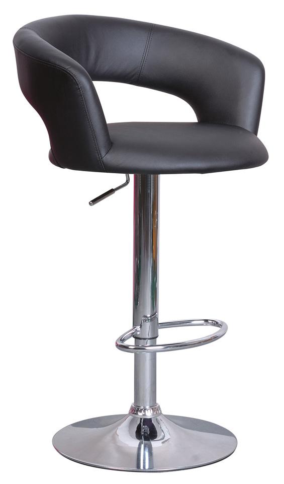Barová stolička KROKUS C-328 čierna