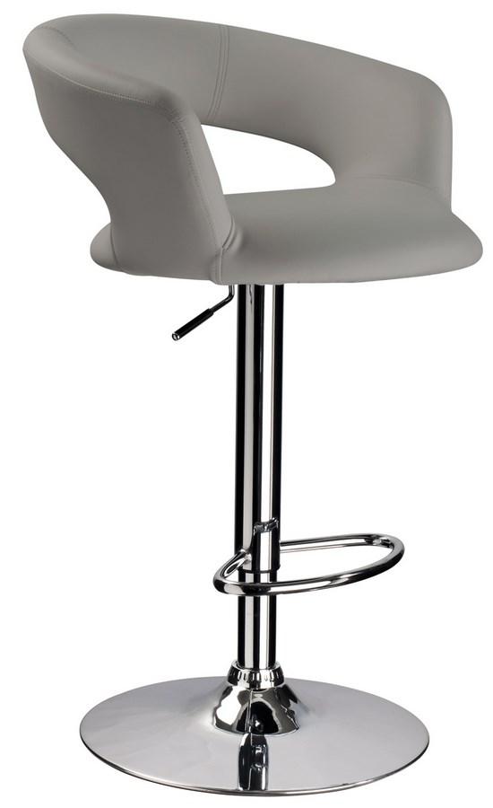 Barová židle KROKUS C-328 šedá