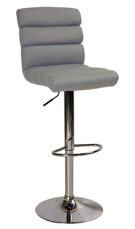 Barová stolička KROKUS C-617 šedá
