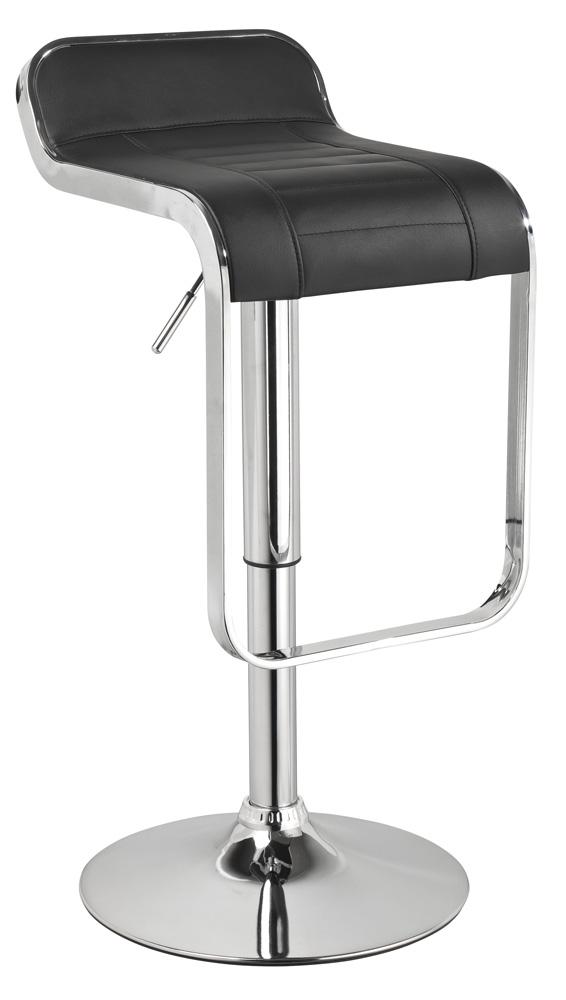 Barová stolička KROKUS C-621 čierna