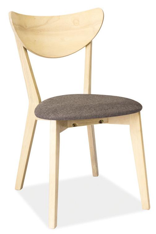 Jedálenská čalúnená stolička CD-37 šedá