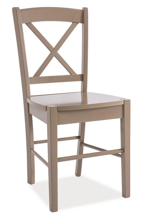 Jedálenská drevená stolička CD-56 hnedá