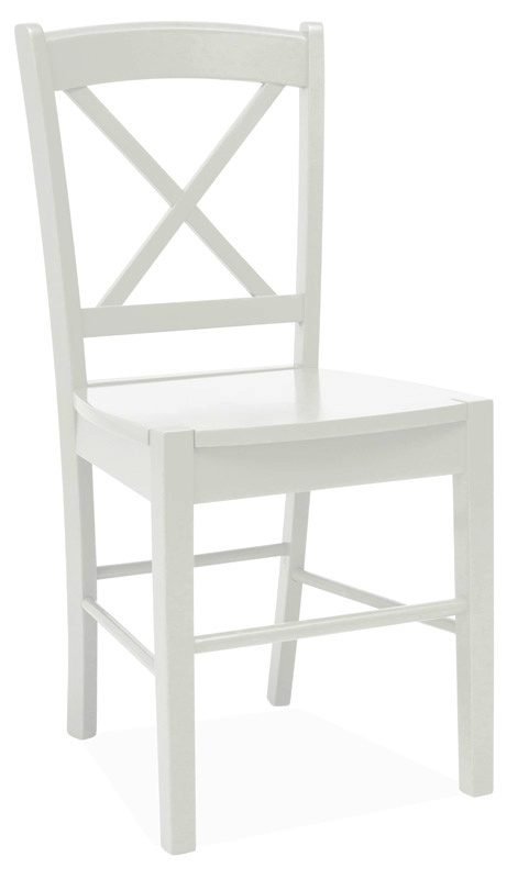 Jedálenská drevná stolička CD-56 biela