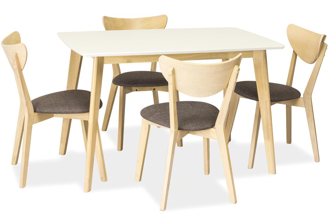 Jedálenský stôl COMBO biely