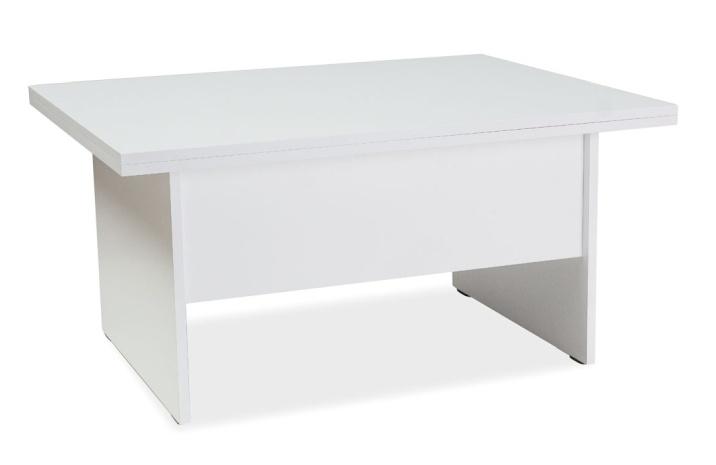 Jídelní/konferenční stůl COSTA A rozkládací - bílá
