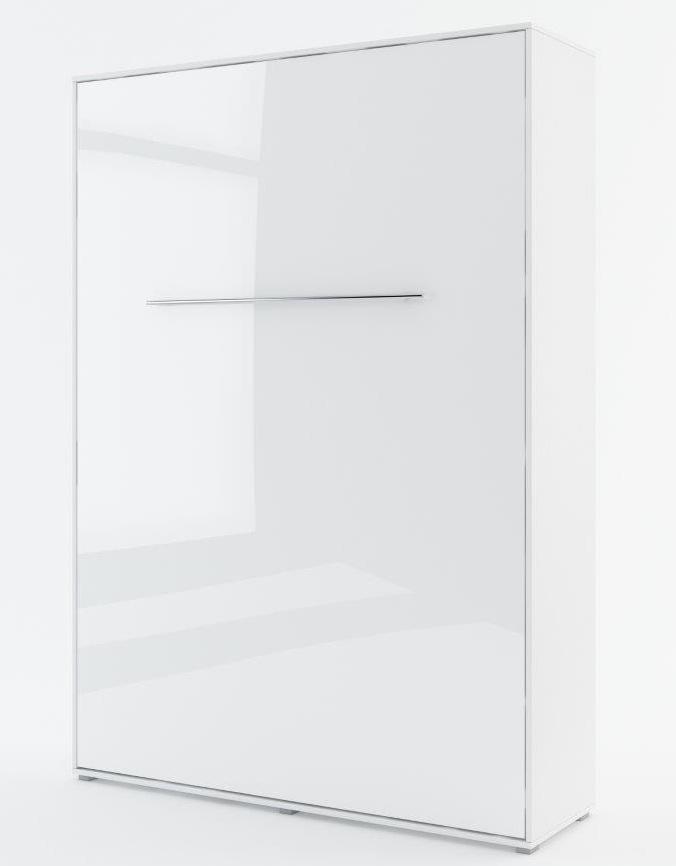 Výklopná postel 140 CONCEPT PRO CP-01P biela lesk/biela mat