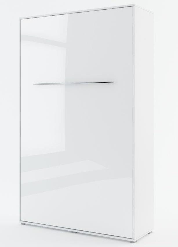 Výklopná postel 120 CONCEPT PRO CP-02P biela lesk/biela mat