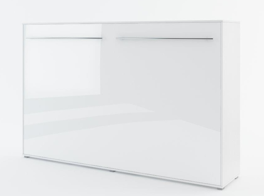 Výklopná postel 120 CONCEPT PRO CP-05P biela lesk/biela mat