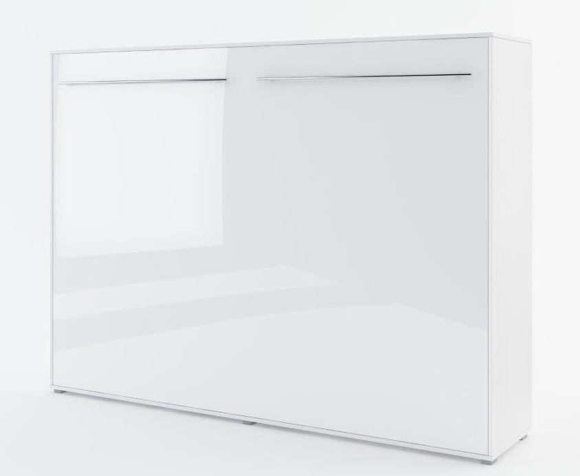 Výklopná postel 90 CONCEPT PRO CP-06P biela lesk/biela mat