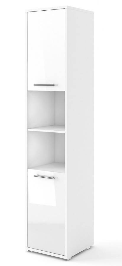 skrinka 2D CONCEPT PRO CP-08 biela/bílý lesk