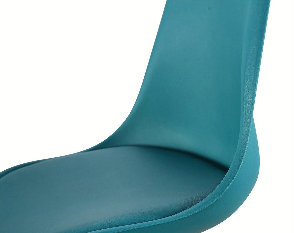 826f74e713ea jedálenská stolička CROSS tyrkysová