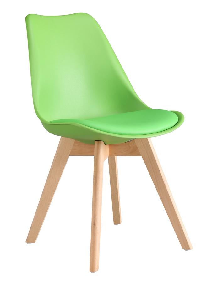 jedálenská stolička CROSS zelená