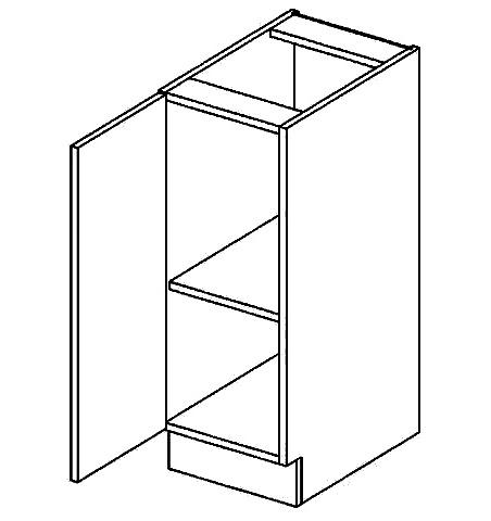 D30L dolní skříňka jednodvéřová GOBI