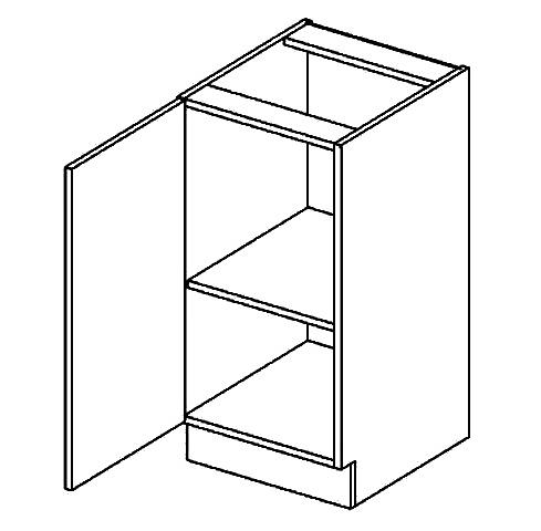 D40L dolní skříňka jednodvéřová GOBI