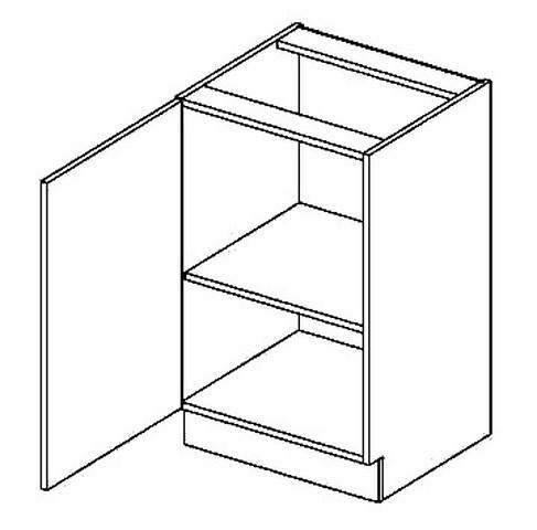 D50L dolní skříňka jednodvéřová GOBI