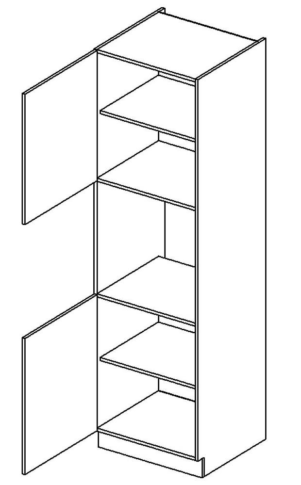 DKS60L vysoká skříňka COSTA na vestavbu trouby