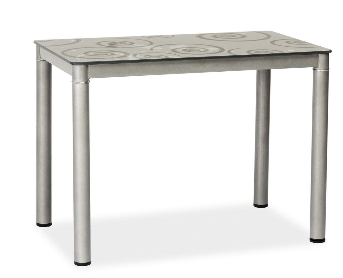 Jedálenský stôl DAMAR 80x60 šedý