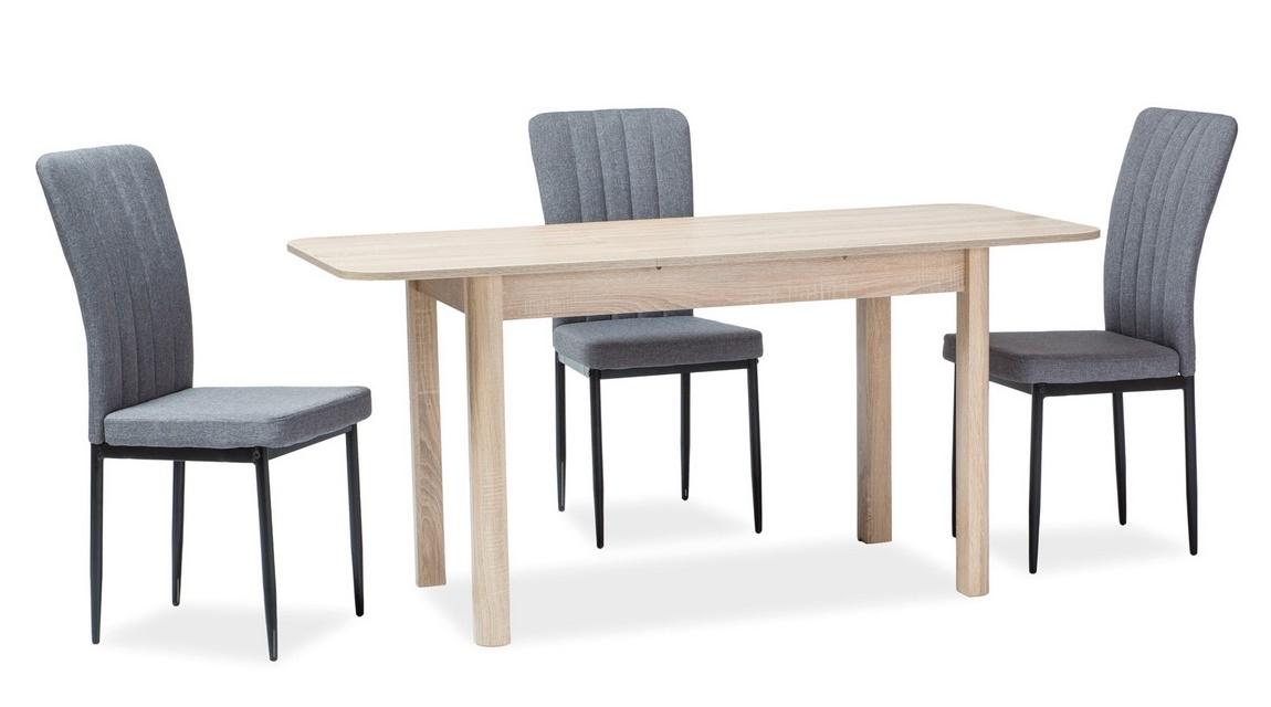 Jedálenský stôl DIEGO 120x68 dub sonoma