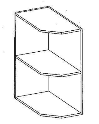 DPO dolní otevřený roh SONOMA levý