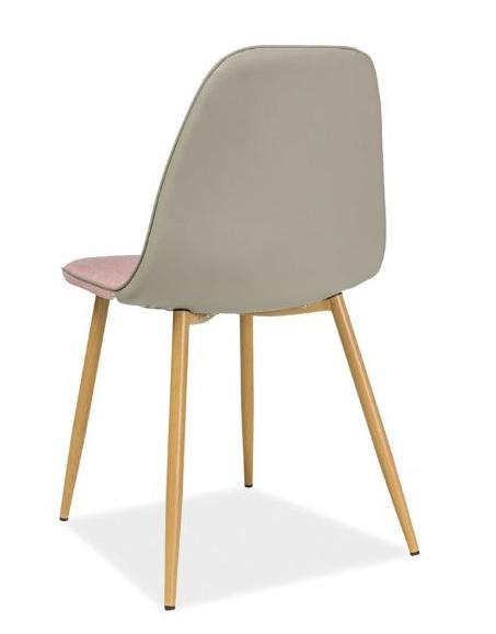 Jedálenská stolička DUAL šedá