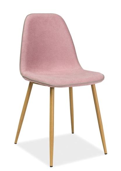 Jedálenská stolička DUAL růžová