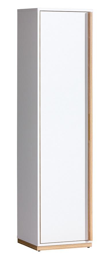 EVADO E12 skříň levá bílá/ořech