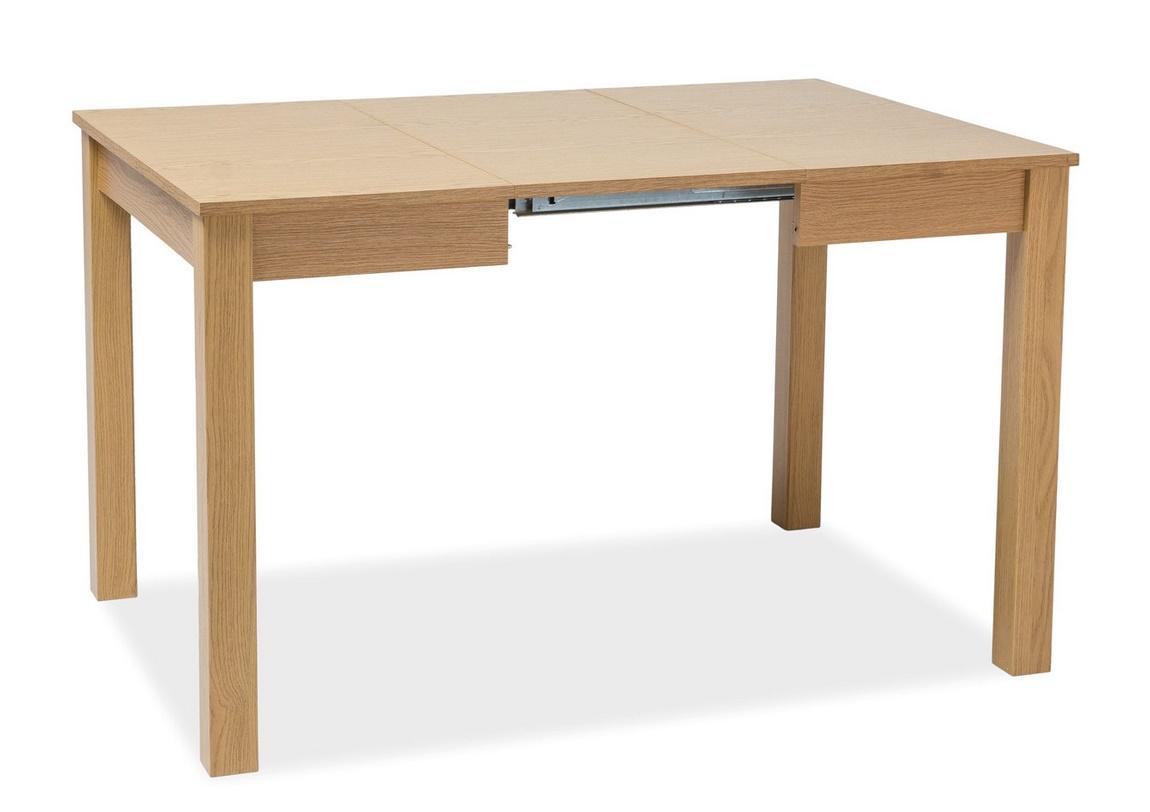 Jedálenský stôl rozkládací ELDO biela