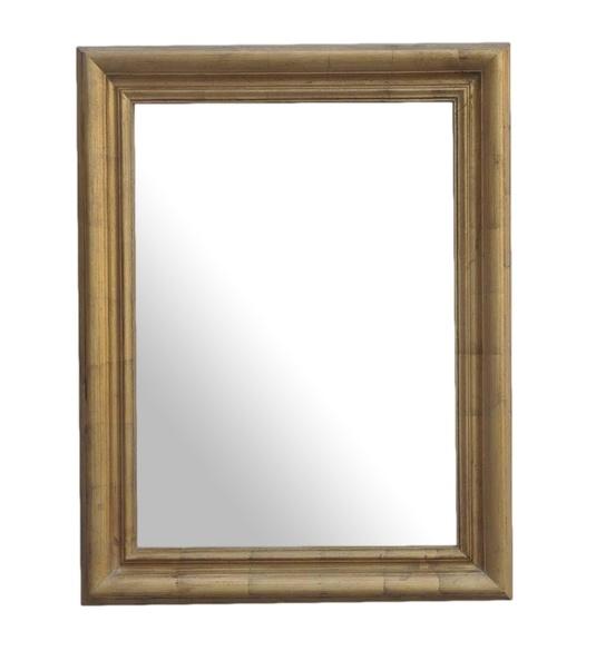 Zrkadlo ELITE 90x70 zlatá
