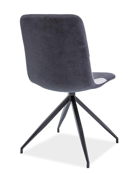 Jedálenská čalúnená stolička ENRICO šedá