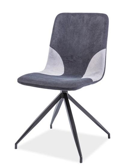 92e3b12d90ee0 Jedálenská čalúnená stolička ENRICO šedá | JedálenskéStoly.sk