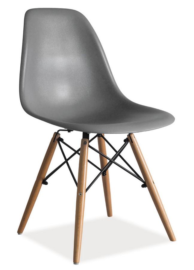 Jedálenská stolička ENZO šedá