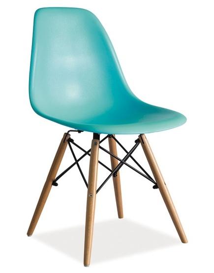 Jedálenská stolička ENZO mořská