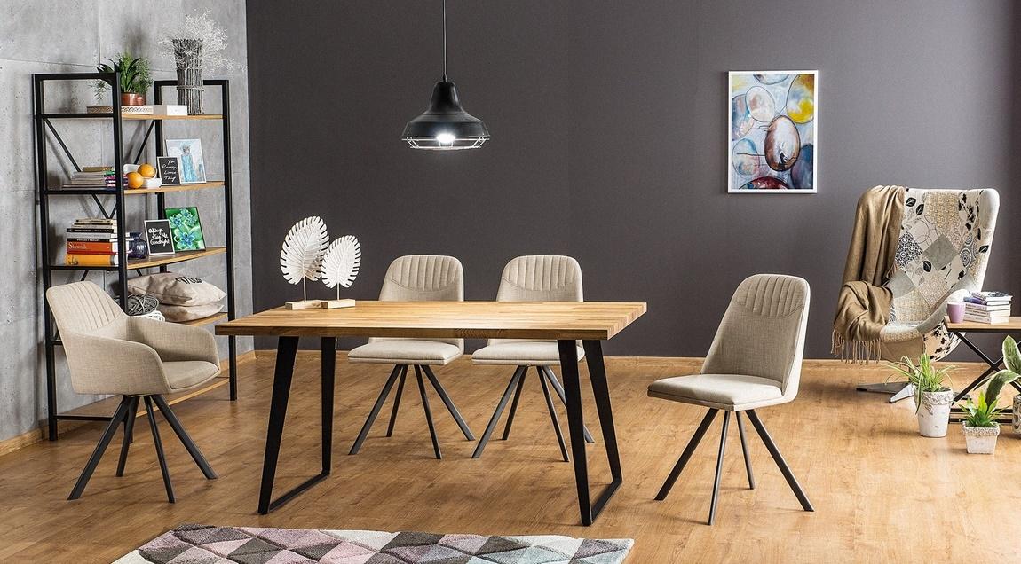 Jedálenský stôl FALCON 150 cm dub masiv