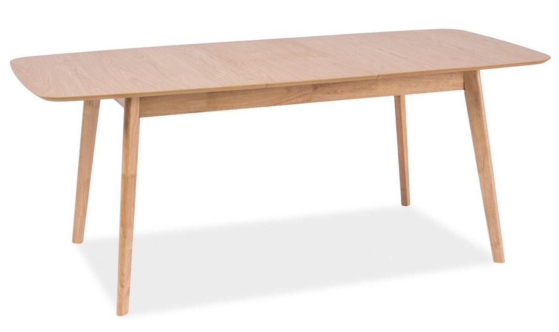 Jídelní stůl rozkládací FELICIO dub 120