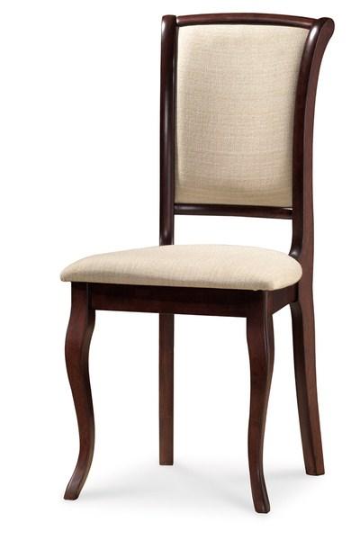 Jedálenská čalúnená stolička MN-SC orech/T01