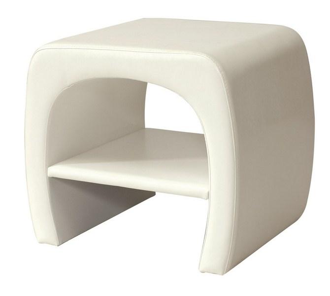 *Noční stolek ORLEANS bílý