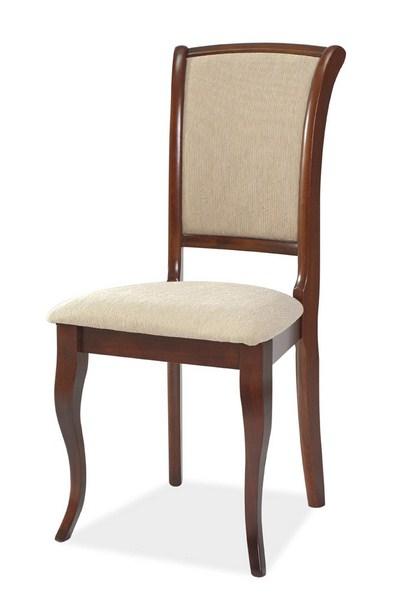 Jedálenská čalúnená stolička MN-SC ant. čerešňa/T01