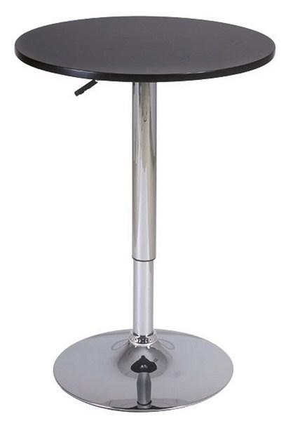Barový stolík B-500 čierny