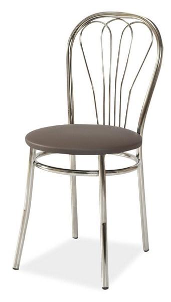 Jedálenská čalúnená stolička V-1