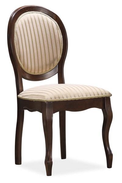 Jedálenská čalúnená stolička FN-SC orech