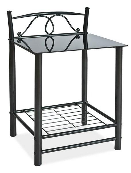 Nočný stolík ET-920 čierny