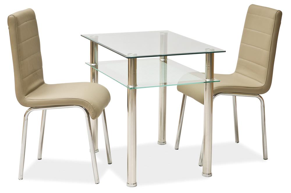 Jedálenský stôl PIXEL 100x60 cm