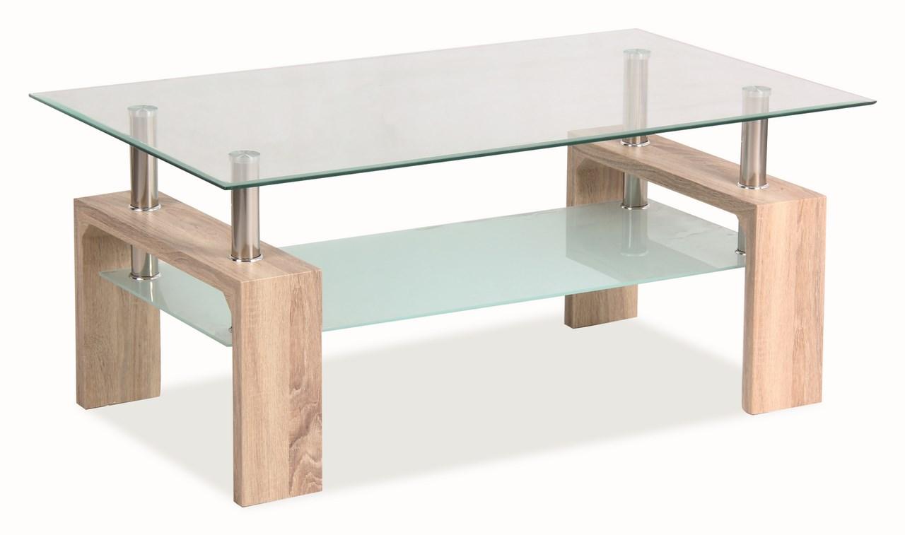 Konferenčný stolík LISA BASIC - dub sonoma