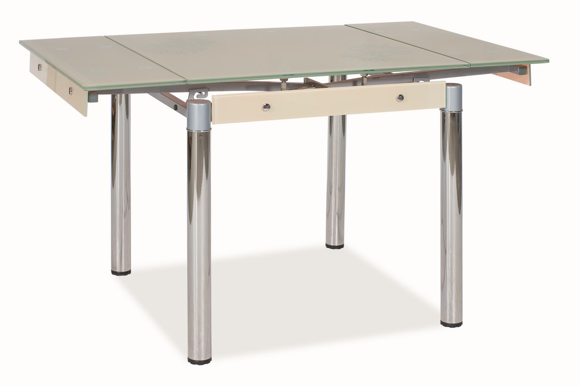 Jedálenský stôl GD-082 rozkladací krém